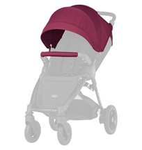Britax B-Agile/B-Motion sufflettkit, wine red