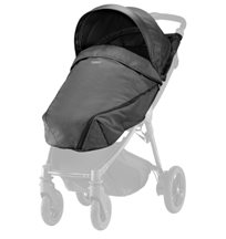 Britax B-Agile/B-Motion sufflett + footsack, black denim