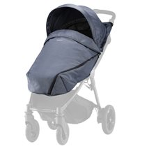 Britax B-Agile/B-Motion sufflett + footsack, navy denim