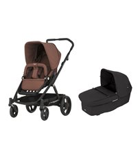 Britax Go duovagn, wood brown