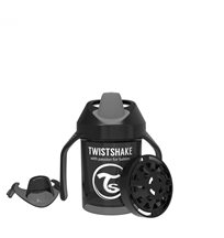 Twistshake pipmugg 230 ml, svart