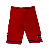 Swimpy UV-shorts Sealife röd, stl 110/116 2:a sortering