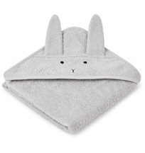 Liewood badcape Albert, rabbit dumbo grey