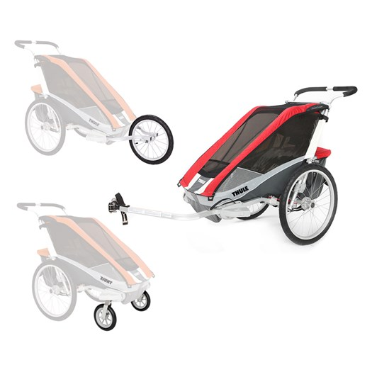 thule chariot cougar 2 cykelvagn cykel jogging. Black Bedroom Furniture Sets. Home Design Ideas