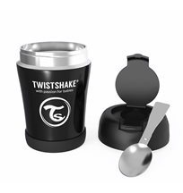 Twistshake mattermos 350 ml, svart