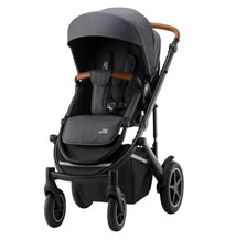 Britax Smile III sittvagn, midnight grey/brunt handtag