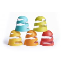 Tiny Love badleksak spiralmugg 4-pack