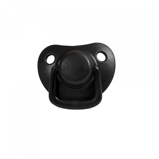 Filibabba napp silikon 0-6m 2-pack, black