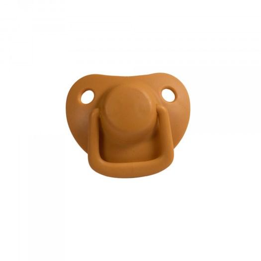 Filibabba napp silikon 0-6m 2-pack, golden mustard