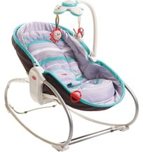 Tiny Love babysitter Rocker Napper 3-i-1, grey