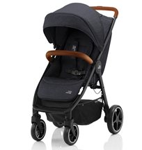 Britax B-Agile R, black shadow/brown