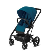 Cybex Balios S Lux sittvagn river blue/svart chassi