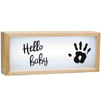 Baby Art lightbox with imprint
