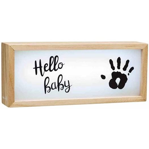 Baby Art lightbox with imprint