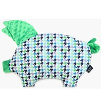 La Millou sleepy pig, violet green