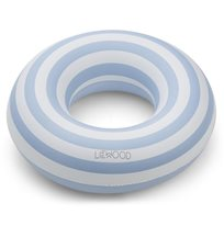 Liewood badring Baloo, rand sea blue
