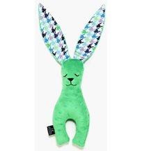 La Millou Bunny long ears stor, violet/green