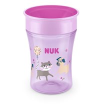 NUK Evolution Magic Cup 230 ml, rosa