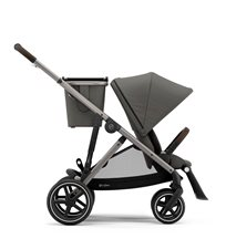 Cybex Gazelle S sittvagn soho grey/silvrigt chassi