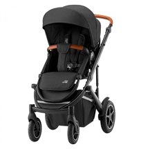 Britax Smile 3 sittvagn, space black/brunt handtag