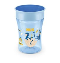 NUK Evolution Magic Cup 230 ml, blå