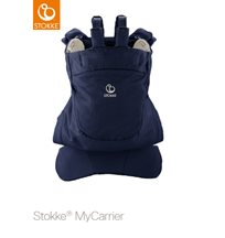 Stokke MyCarrier Back Carrier, deep blue