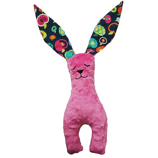 La Millou Bunny long ears liten, rainbow apples/fuchsia
