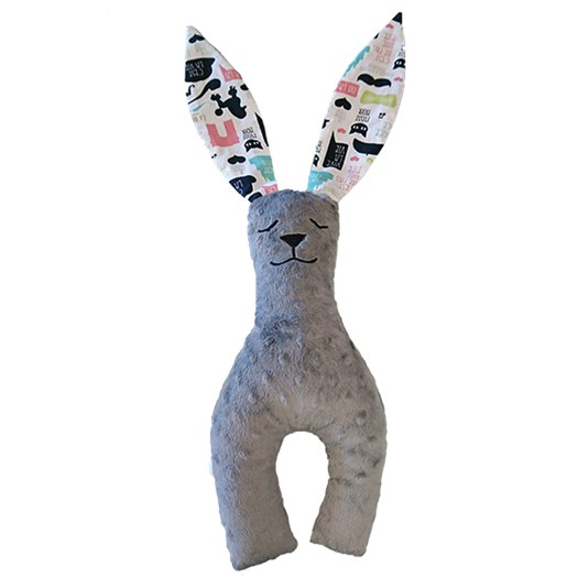 La Millou Bunny long ears liten, hipster lady/grey