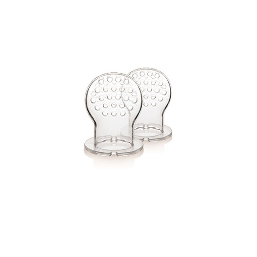 Kidsme Food Feeder 6m+ utbytespip, 2-pack