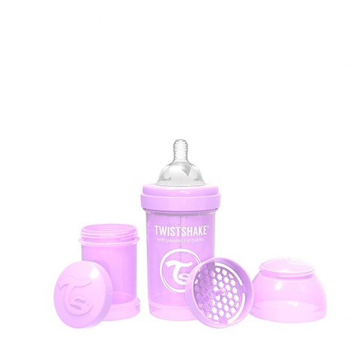 Twistshake Anti-Colic flaska 180 ml, lila pastell