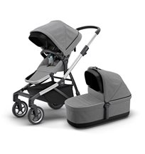 Thule Sleek duovagn, grey melange